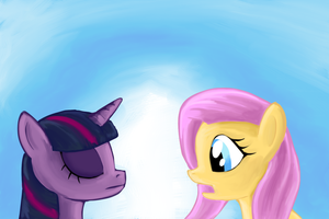 Twilight the Bitbit Princess: Fluttershy by Shade-os