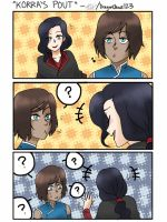 Korra's 'Pout' face by DragonClaws123