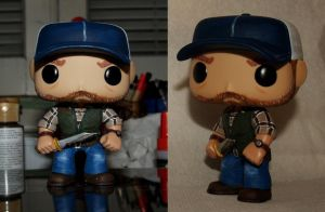 Custom Funko Pop Bobby Singer by LMRourke