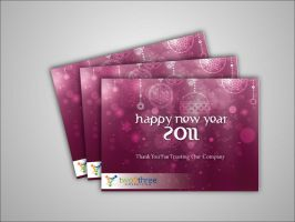 new year card by simbahswan