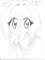 .:Karin Maaka quick sketch:. by roxasrocksmysocks