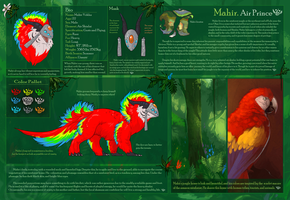Mahir Reference Sheet by KGMomo