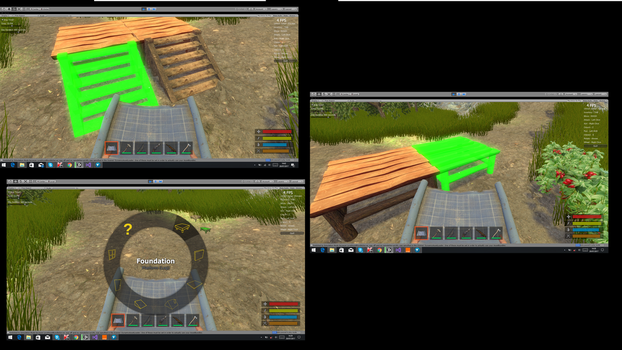 Survival Project Building System by Georgesbugs