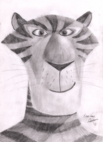 Vitaly - Madagascar - Pencil drawing by Fragsey