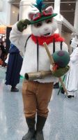 Teemo from League of Legends at AX 2013 by trivto
