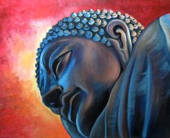 Sunrise Buddha by jynx101