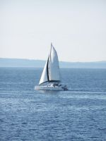 Sailboat stock by Aphoticbeauty