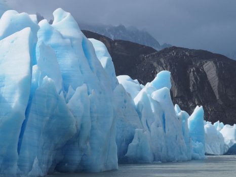 ice and rock by wam17