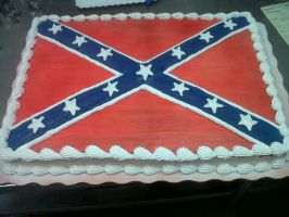 Confederate Cake by AingelCakes