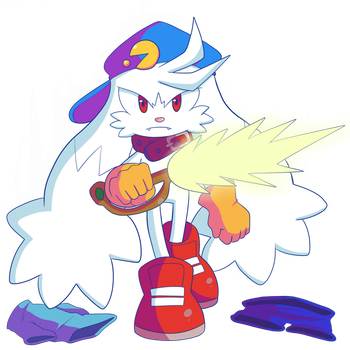 'Witness the real me. The real Dreamer of Light.'' by Lux-Klonoa