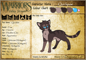 New Quickpaw REF by screms