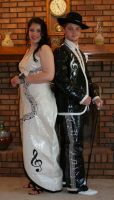 ha, we wore duct tape to prom by elphabalives