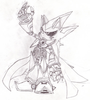 Neo Metal Sonic Sketch by SRB2-Blade