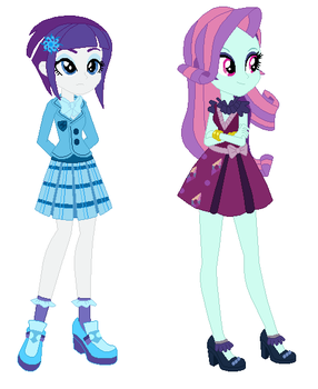 Rari flare and Sunny ty by LPSADVENTURE2O