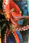 Octopus painting by Fire-Redhead