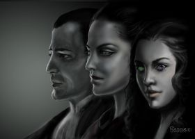 The Draculas by Hagge