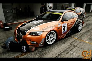 bmw M3 racing by jhoncolle