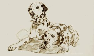 Pongo and Perdi by GoldieRetriever