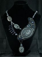 Mother Crow. Necklace by Sintagma-Bellis