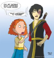 Nexus: Zuko meets Ginger by Doodley