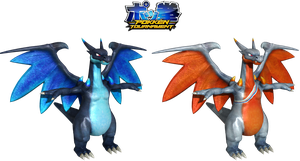 Pokken Tournament: Mega Charizard X Download by Tuni-kun