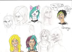 sketches by Jaquina