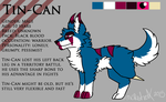 Tin-Can REF SHEET _Unknown Darkness_ by MCRetroX
