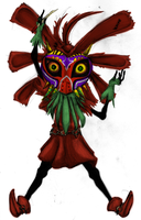 Skull Kid by Draikinator