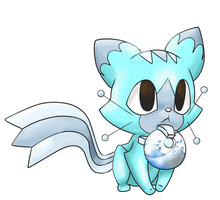 fakemon 007 - Waveaw by Rush88