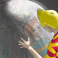 Mother 3 - Reflecting by NebulousSkye