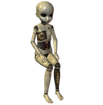 Creepy Ball Joint Doll 005 by Selficide-Stock