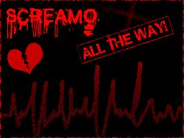 SCREAMO ALL THE WAY by mistershadows123