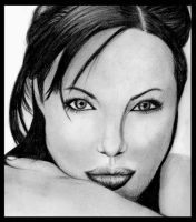 Angelina Jolie by angstfool11