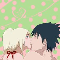 SasuIno Kiss Love by Ino-sama-Berezohka
