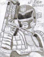 Judge Dredd by King-of-Earth