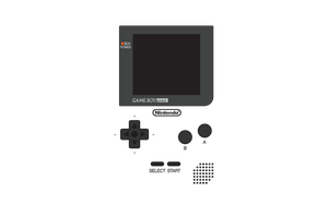 Game Boy Pocket Layout by CadmiumRED