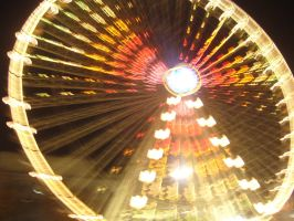 Grande roue place Bellecour by Qsec