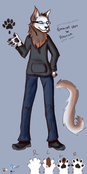 Another attempt at a fursona rip by Slice-Of-Burnt-Toast
