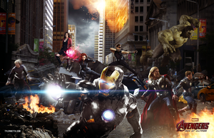 Avengers: Age of Ultron by AncoraDesign