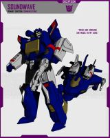 CYBERTRONIAN SOUNDWAVE by F-for-feasant-design