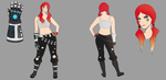 Ash (character concept) by OrangeFreeman