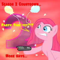 MLP Season 2 Countdown 2 DAYS by TuliothePillbug
