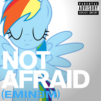 Eminem - Not Afraid (Rainbow Dash) by AdrianImpalaMata