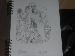 Kratos, the Ghost of Sparta