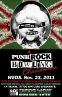Punk Rock Bowling Christmas One-sheet by bmansnuggles