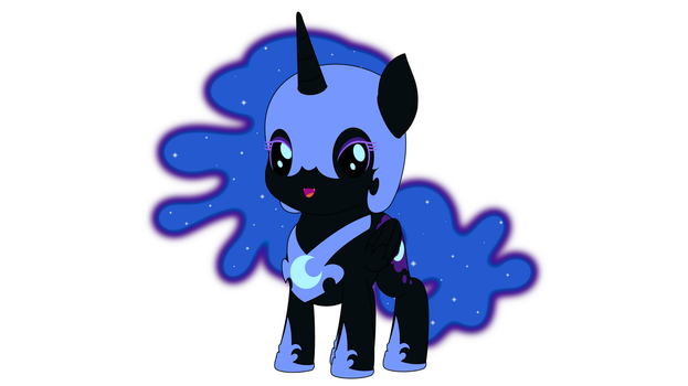 Chibi Nightmare Moon by ArdonSword