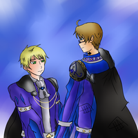 APH: Cardverse:: Spade Wedding robes by DifferentWaysToCry