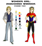 Character Sheet - Wonder Girl by girlwonder004