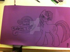 My Little Pony Playmat by propsofprophecy