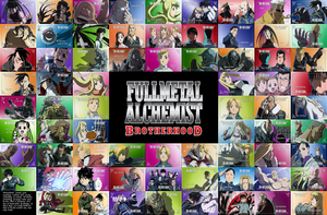 Fullmetal Alchemist: Brotherhood Wallpaper by SRRenjiAbarai
